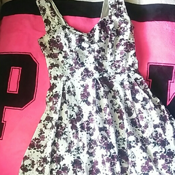 Plus Size Hot Topic Skull Dress